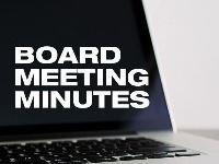 Board Meeting Minutes